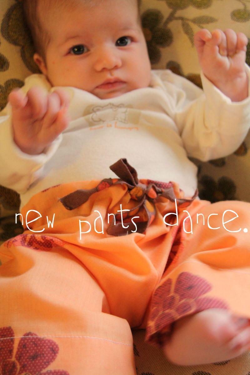 New pants dance